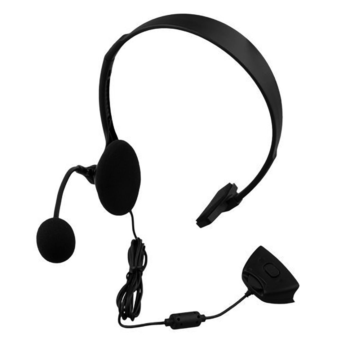 Marsnaska Top Qualität protable xbox360 Wired Gaming Chat einzigen Headset Kopfhörer Mikrofon für xbox 360 computer Schwarz
