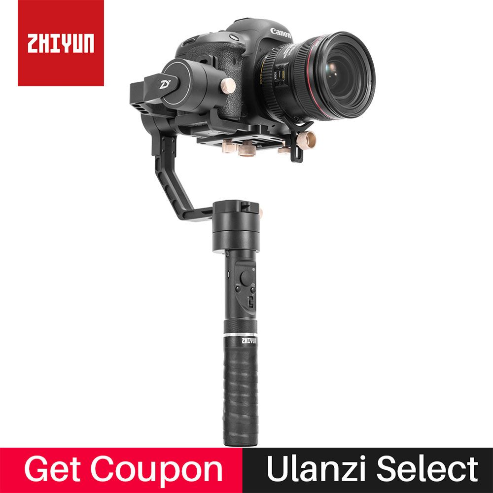 Zhiyun Crane Plus 3-Axis Camera Stabilizer Handheld Gimbal for Canon 5D3 Sony A7 Nikon Mirrorless DSLR Support 2.5KG POV Mode