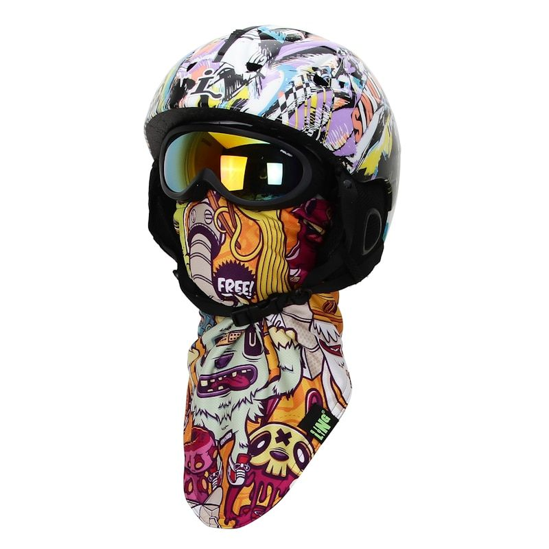 Winter WindProof Thermal Skiing Scarf Neck Warmer Outdoor Sport Snowboard Face Mask Motorcycle Warm Ski Beanie Cycling Skullies
