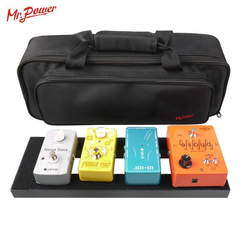 Guitare effet pédale panneau installation 40X13 CM bricolage guitare Pedalboard avec bande magique Instrument de musique accessoire à vendre 120 B