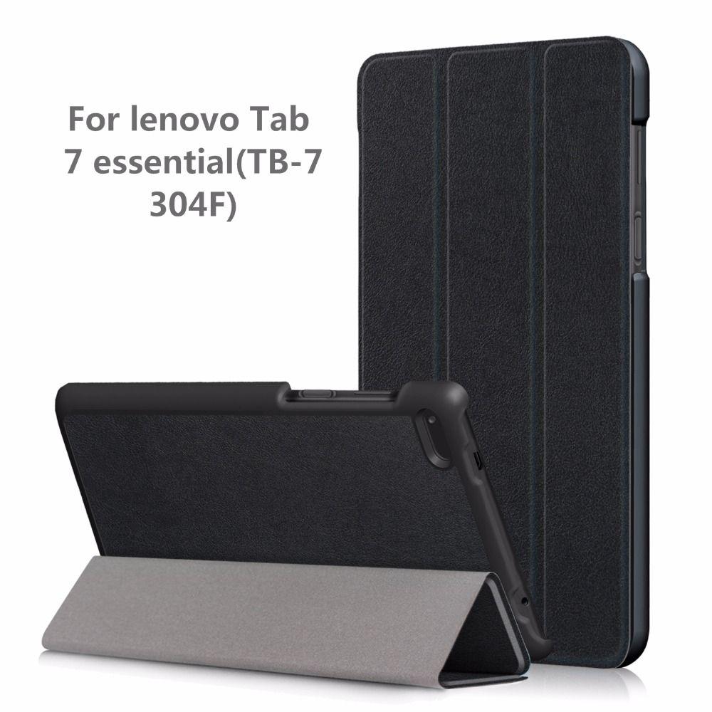 PU Case cover for Lenovo Tab4 Tab 4 7 Essential TB-7304 TB-7304F TB-7304I TB-7304X 7