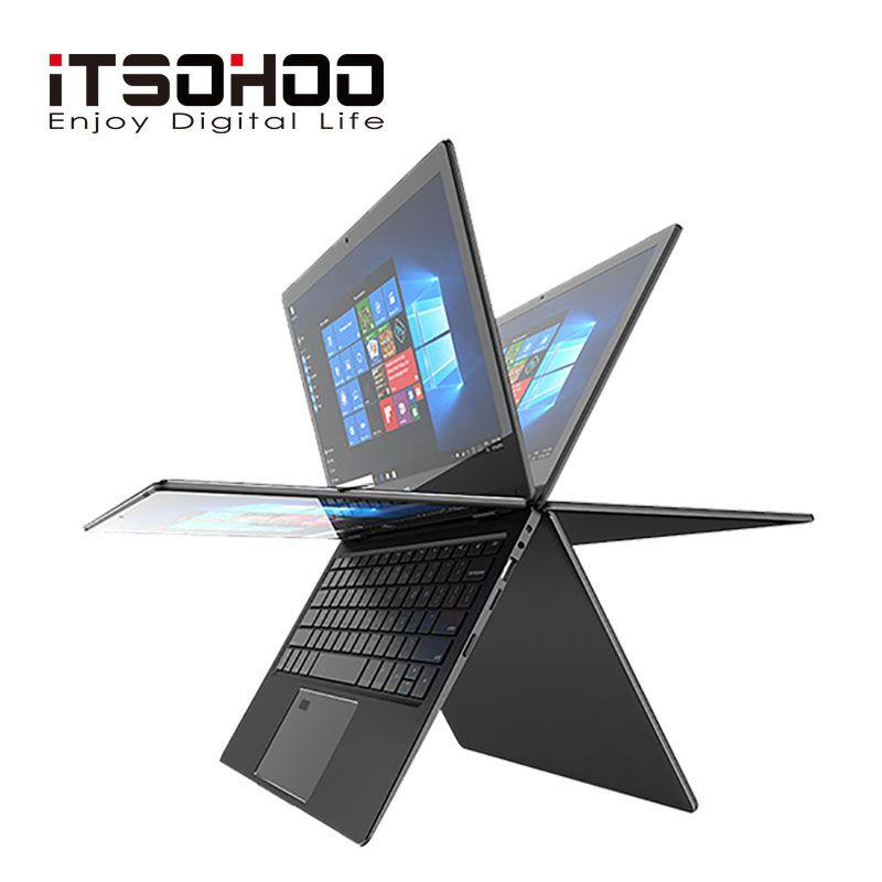 11,6 zoll 2 in 1 cabrio touchscreen Netbook 8GB RAM 1920X1080 IPS Bildschirm 192GB dual band wifi iTSOHOO 360 grad laptop