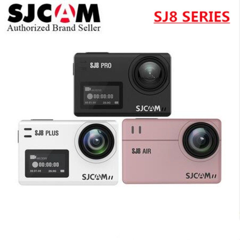 SJCAM SJ8 Air & SJ8 Plus & SJ8 Pro 1290P yi 4K Action Camera WIFI Remote Control go Waterproof pro camara deportiva SJ sports DV