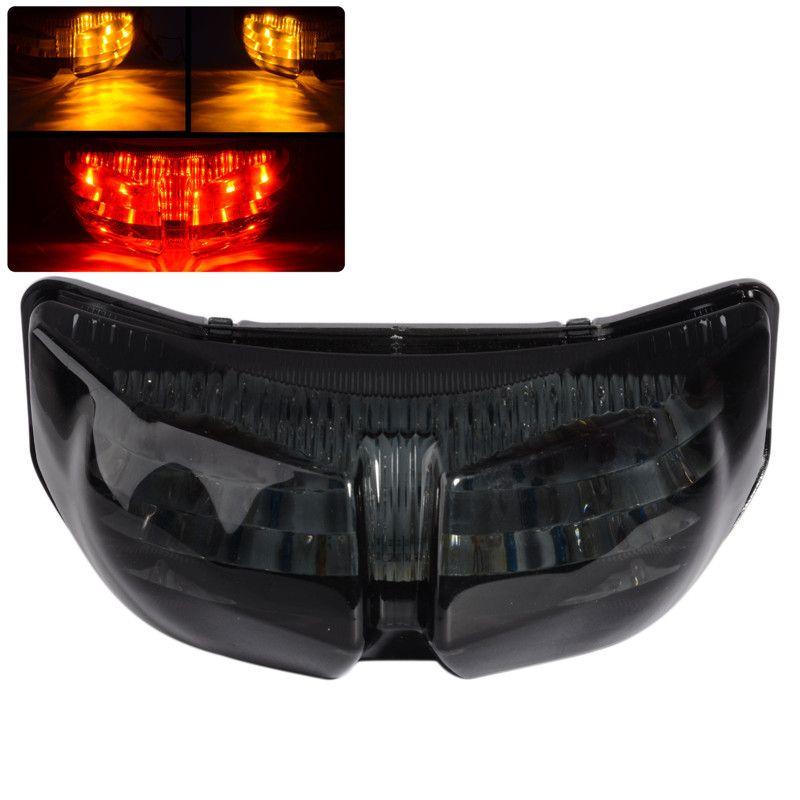Fumée intégré LED clignotant arrière haute qualité ABS feu arrière LED pour Yamaha FZ8 Fazer 10-13 FZ1 N FZ1 Fazer 06-13