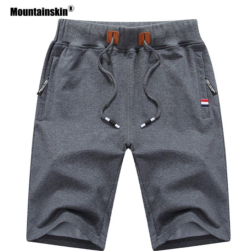 Alpinskin 2019 solide hommes Shorts 6XL été hommes Shorts de plage coton décontracté hommes Shorts homme marque vêtements SA210