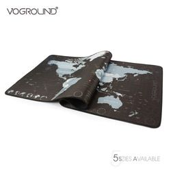 VOGROUND New World Map Speed Locking Edge Large Natural Rubber Mouse Pad Waterproof Game Desk Mousepad Mat for Warcraft Dota LOL