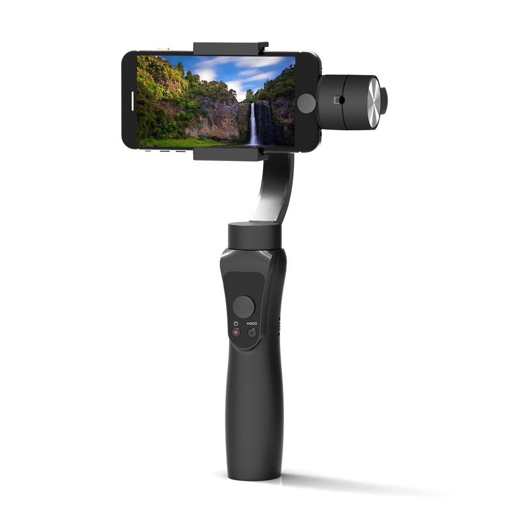 Newest Smooth 3-Axis Handheld Gimbal Portable Stabilizer for iPhone 8 X Xiaomi Samsung S8 Smart phone Gopro Action Camera