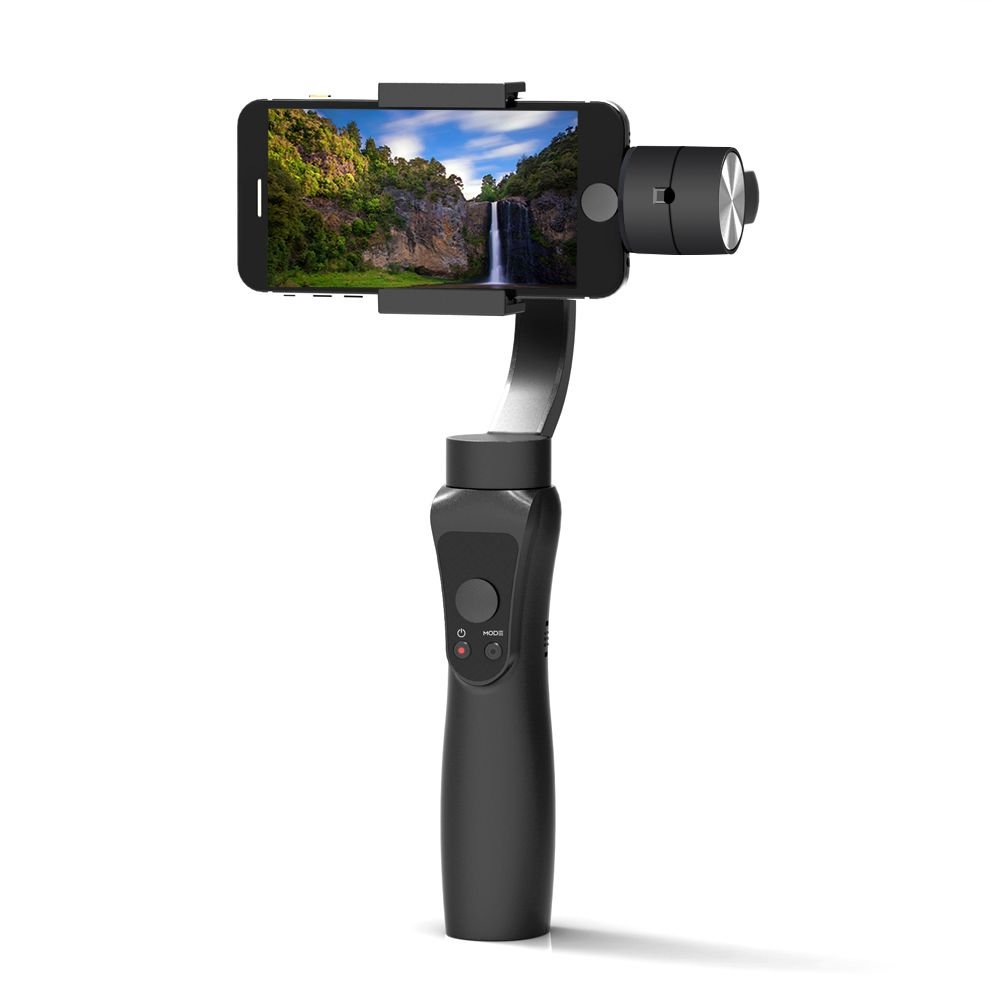 Newest Smooth 3-Axis Handheld Gimbal Portable Stabilizer for iPhone X 8 Xiaomi Samsung S8 Smart phone Gopro Action Camera