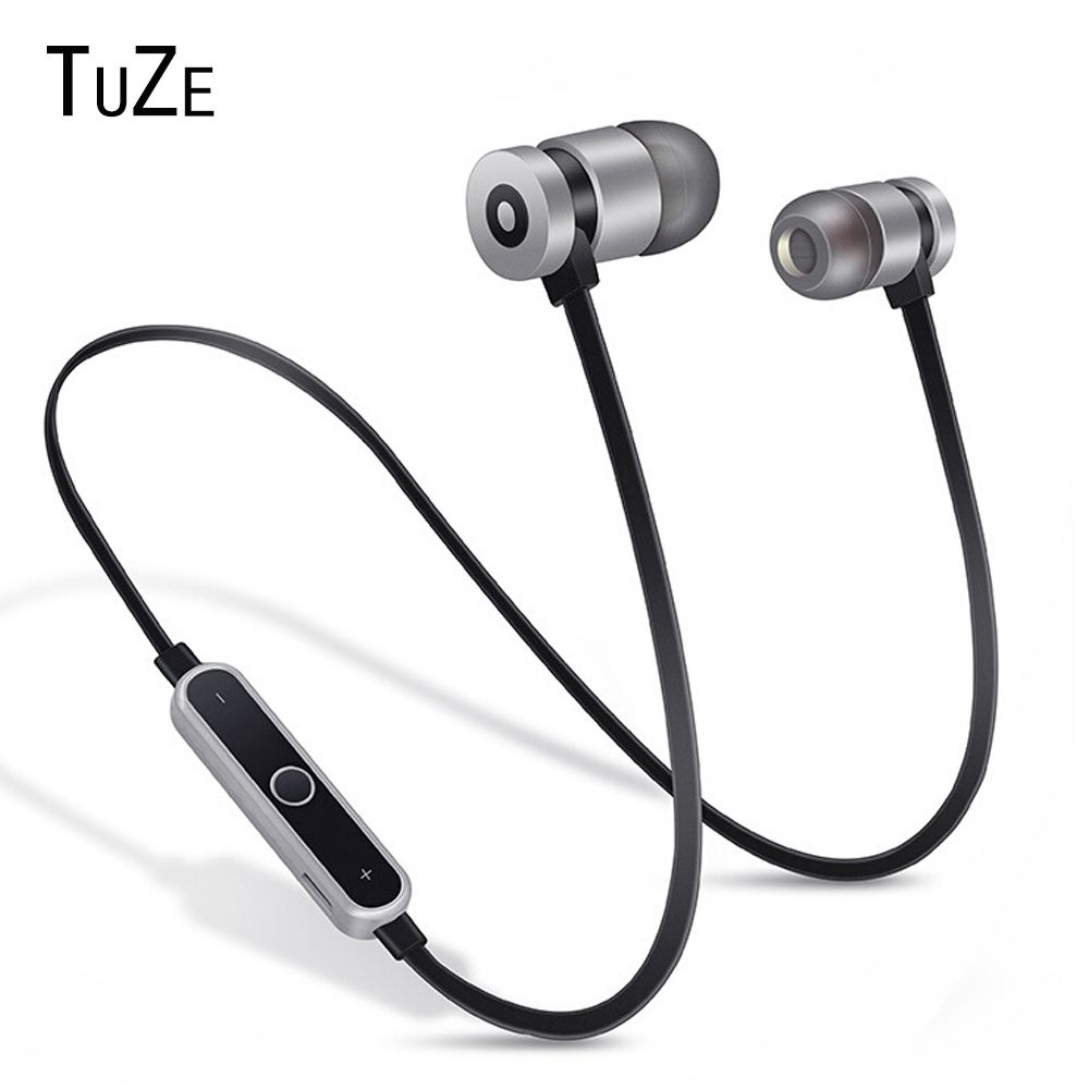 TuZe HK-B1 Neckband Bluetooth Earphone Wireless headphone For Xiaomi iPhone earbuds stereo auriculares fone de ouvido with MIC