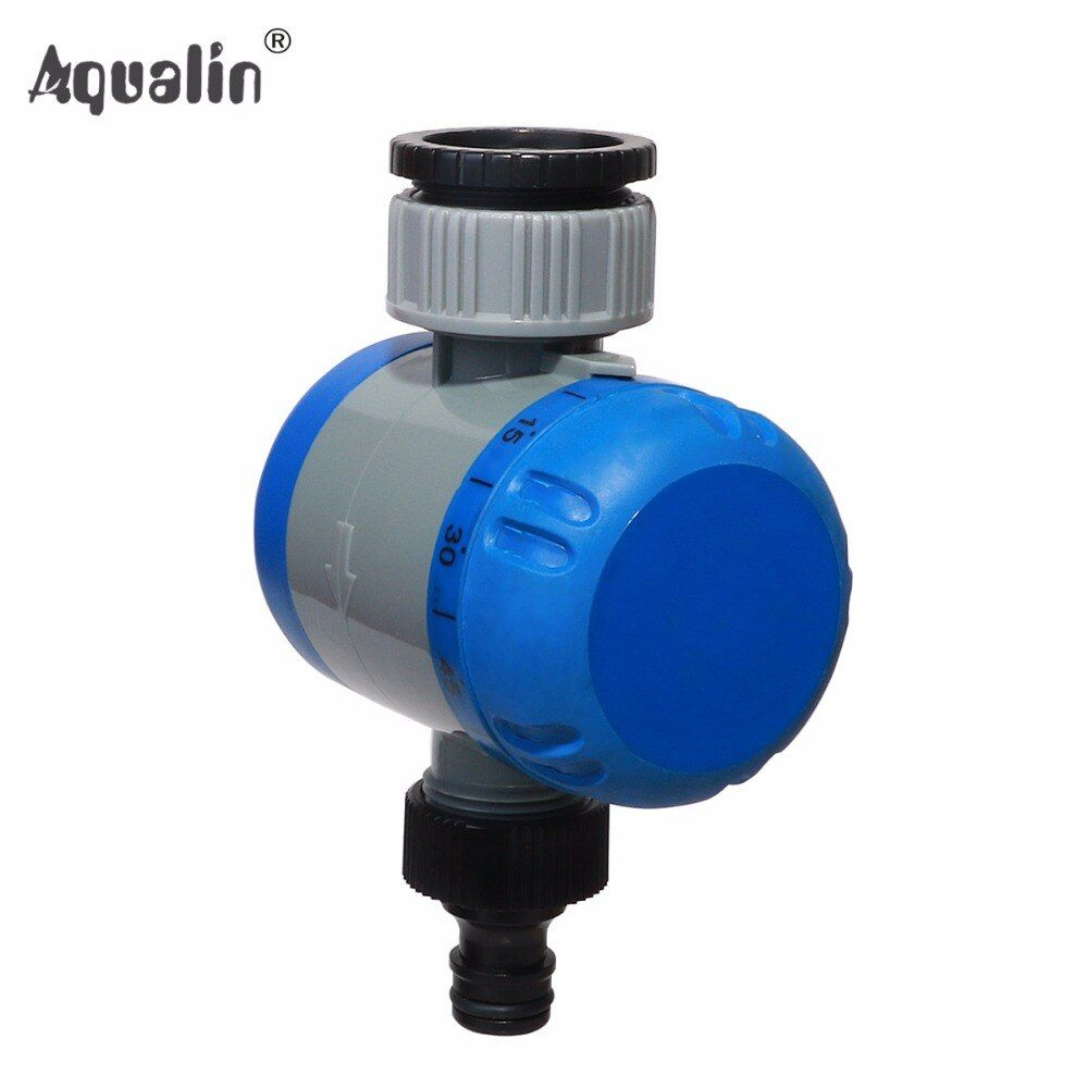 Rotary Mechanical Hose Faucet Water Timer Garden Irrigation with Soft Grip #21101