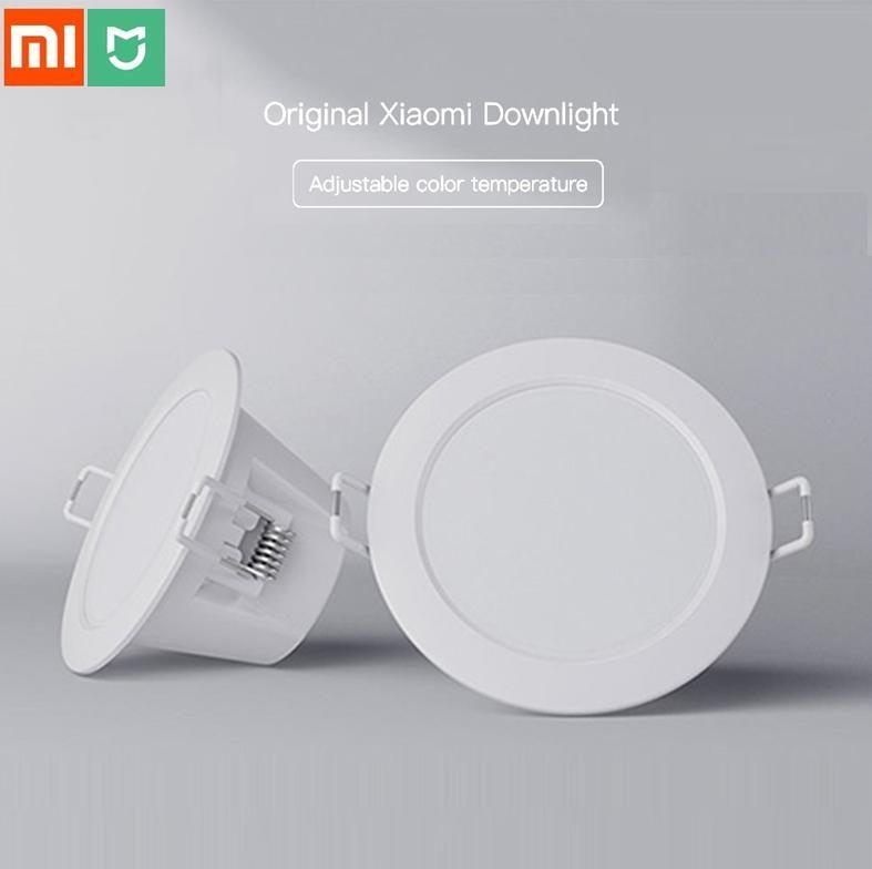 Xiao mi mi jia Smart Downlight réglable couleur plafonnier dim mi ng lumière blanche et chaude WIFI mi maison App télécommande intelligente