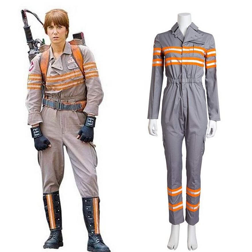 Ghostbusters Ghost Busters Jumpsuit Cosplay Costume CWU-27p Flight Suit Uniform