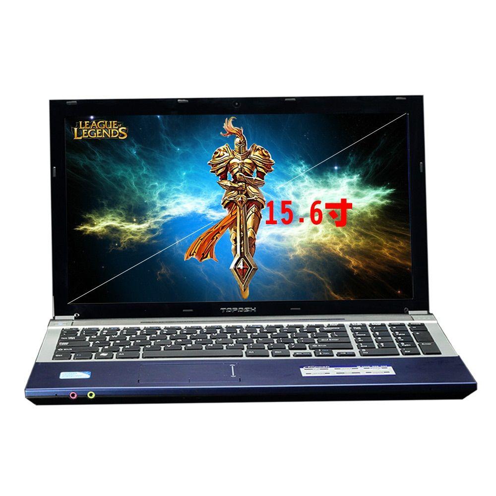 I7 1TB 8GB RAM Spiel Notebook 15,6 1000GB Schnelle CPU Intel Core i7 Windows10 Business PC Arabisch hebräisch Spanisch Russische Tastatur
