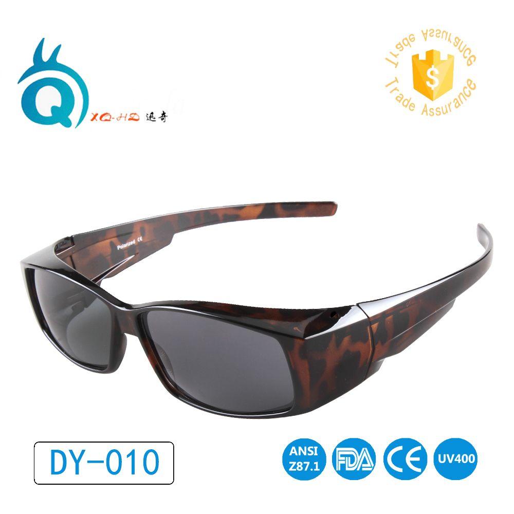 Livraison gratuite fit over lunettes lunettes de soleil polarisées pour hommes et femmes lunettes couverture lunettes de soleil UV400 porter sur myoia lunettes de soleil