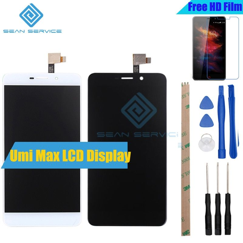 For 100% Original UMI MAX LCD Display and Touch Screen Digitizer Assembly Replacement 1920X1080P 5.5inch For UMI MAX Stock