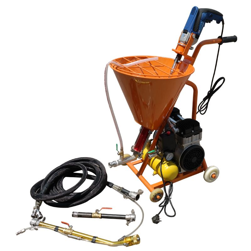 Electric high pressure spraying machine Grouting machine grouter Cement waterproof Mending leakage Paint plaster putty sprayer