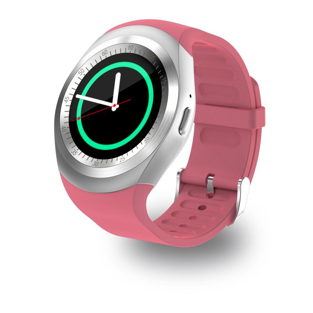 696 Y1 Montre Smart Watch Soutien Nano SIM Carte et TF carte Smartwatch PK GT08 U8 Portable Intelligent Electronics Stock Pour Android