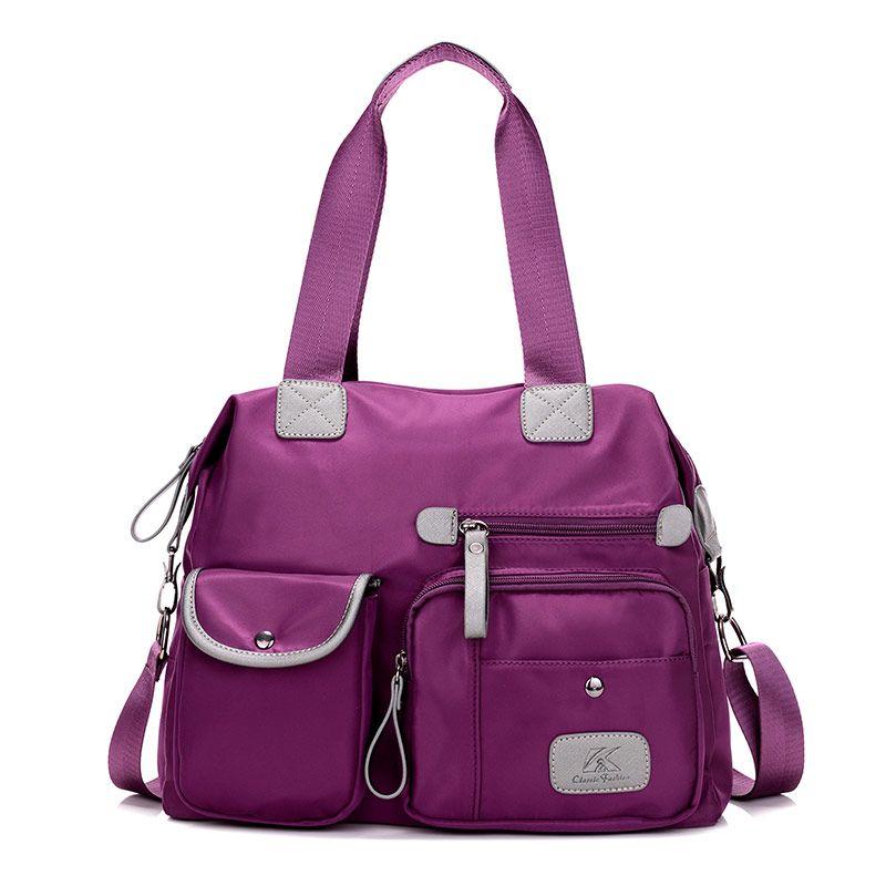 2019 nouveau haute qualité sacs à main sac casual femmes sac à bandoulière imperméable en nylon messenger sacs grande capacité fourre-tout Bolsa
