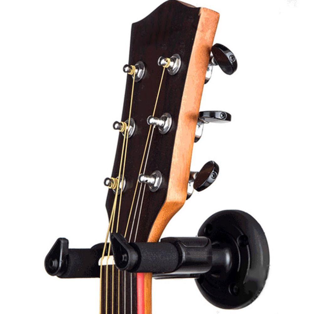 Электрогитары вешалка настенная держатель стойка крючок крепление для различных Размеры Гитары черный Гитары бас аксессуары Бесплатная д...