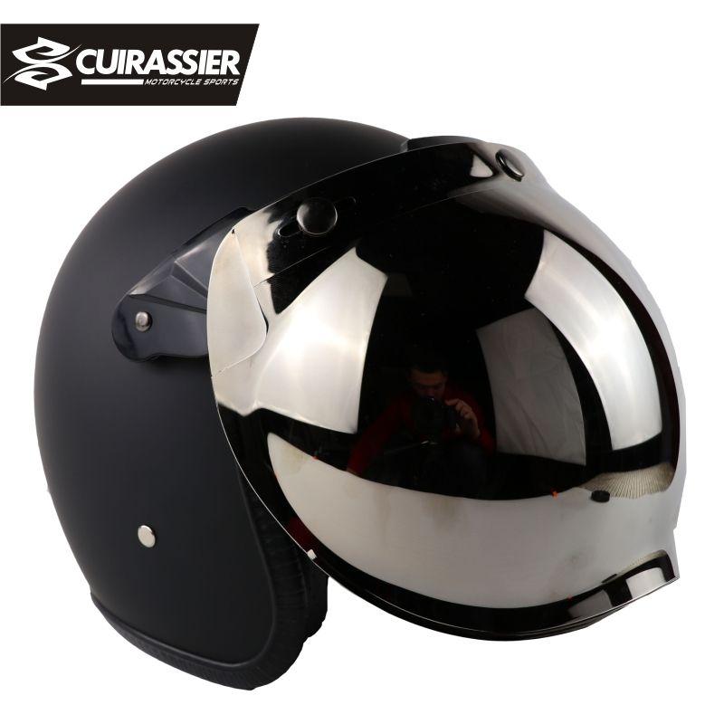 Cuirassier CH05 vintage off road motocross men feminino motorcycle helmet vespa casco capacete open face capacetes motociclistas