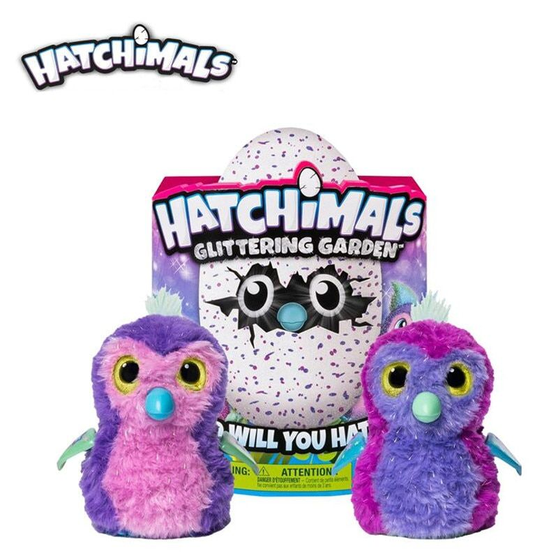 Hatchimals eier Interaktive Schimmernde Draggle Spielzeug Hatcher Magie Ei Schlüpfen Intelligente Elektronische Puzzle Pet Kind Spielzeug geschenk 1 stücke