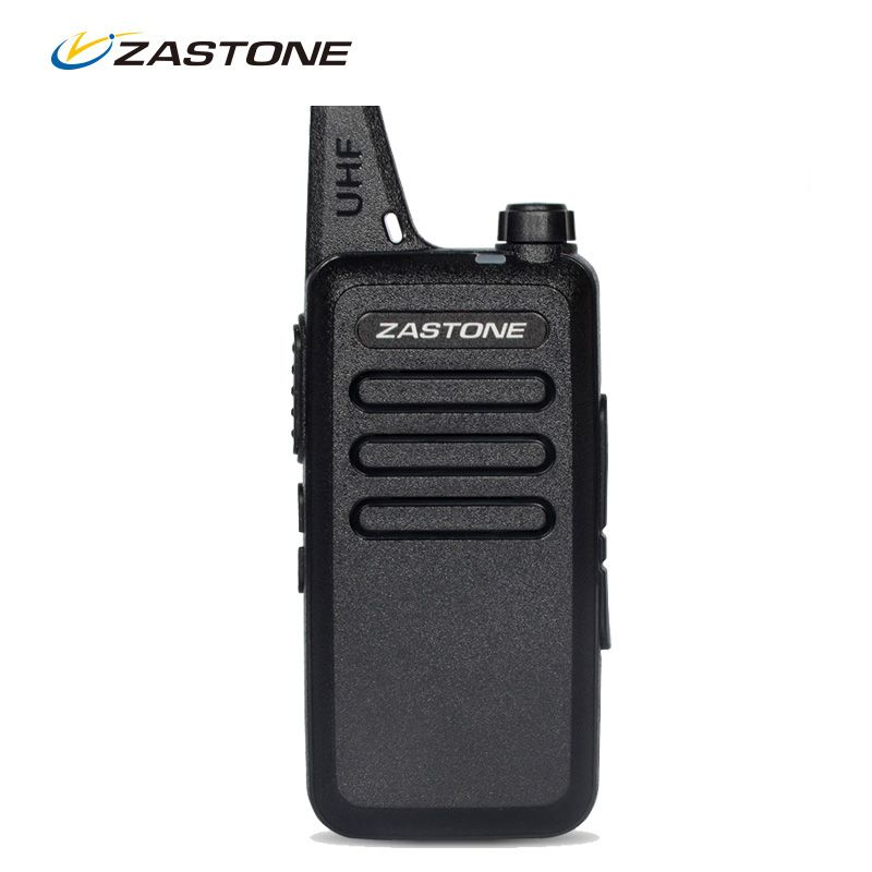 Zastone ZT-X6 Mini Walkie Talkie UHF 400-470Mhz Frequency Portable Walkie Talkies Two Way Radio UHF Handheld Ham Radios