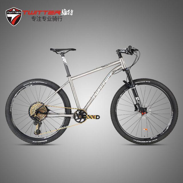 Twitter WERNER(thro-axle)-12S Mtb Mountain Bike Avionics Titanium Frame 12 Speed DT Wheelset Fork XC Bicycle
