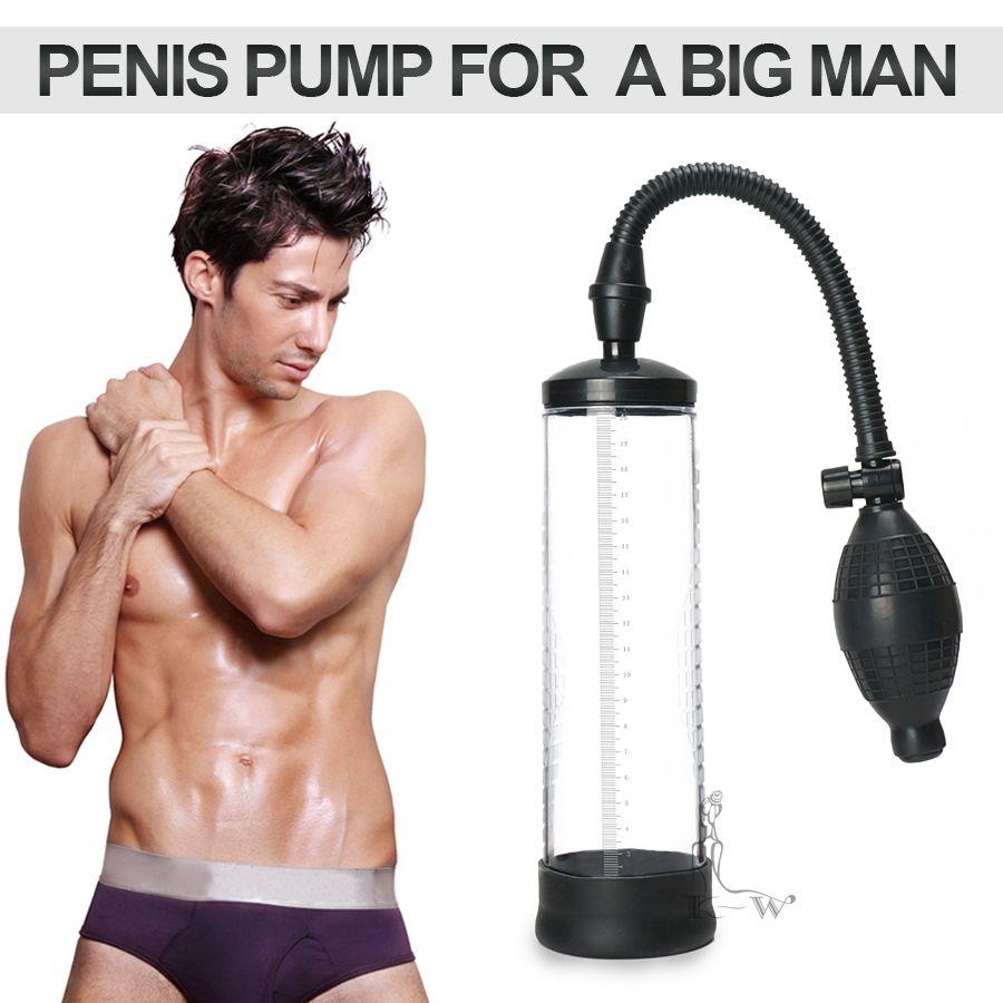 Recomendado! CANWIN Bomba de Vacío Ampliación Del pene Extensor de Pene Ampliadora del Pene Juguetes Sexuales para Hombres 39% [Venta]