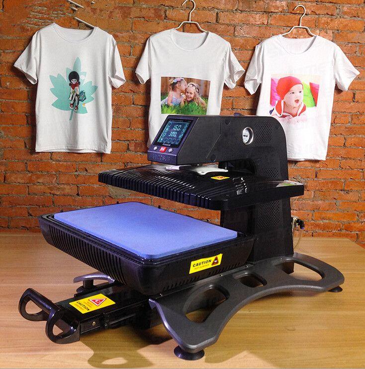 Automatische 3D Sublimation Heißer Presse Pneumatische Wärme Transfer Maschine Für Handy Shell Becher T-shirt Und Andere ST-420
