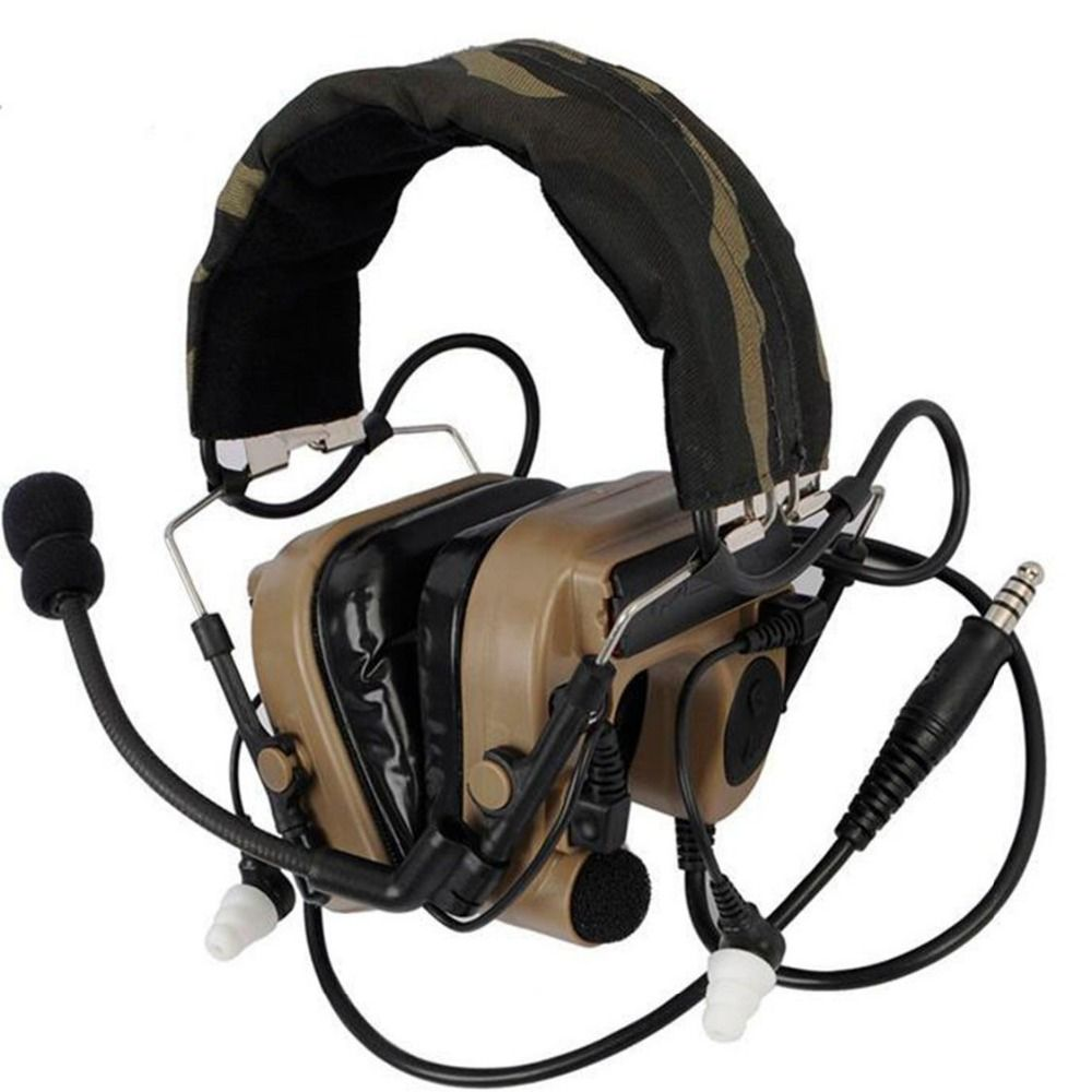 Hunting Z-Tactical TAC IV Noise Reduction Headset Headphones Airsoft Tactical Combat High Tone Quality Utility Earpiece Z038