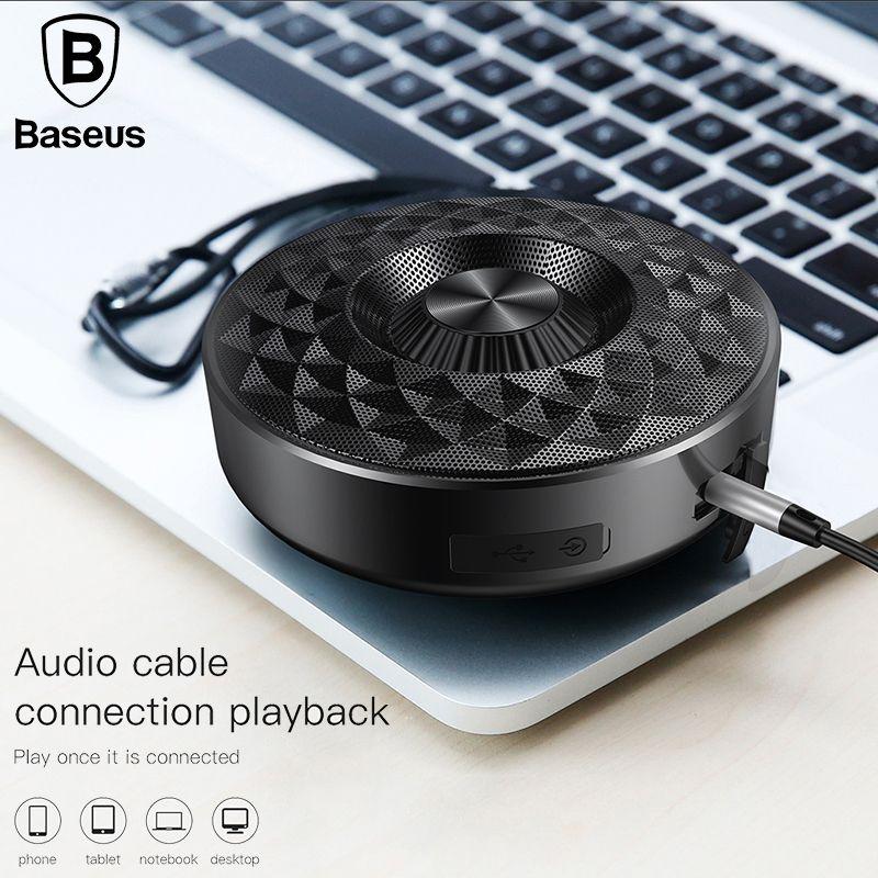 Baseus E03 Bluetooth Speaker Outdoor Wireless Portable Speaker bluetooth Stereo Waterproof Sport altavoz enceinte Built-in mic