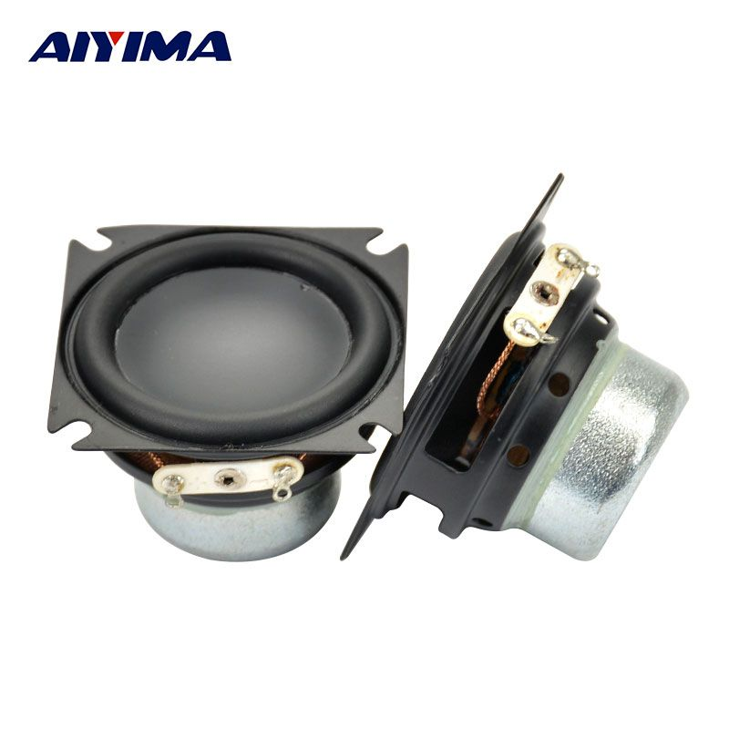 Aiyima 2Pcs Audio Speakers 1.75Inch Full Range Speaker Bluetooth Mini Portable Speaker for jblSpeakers