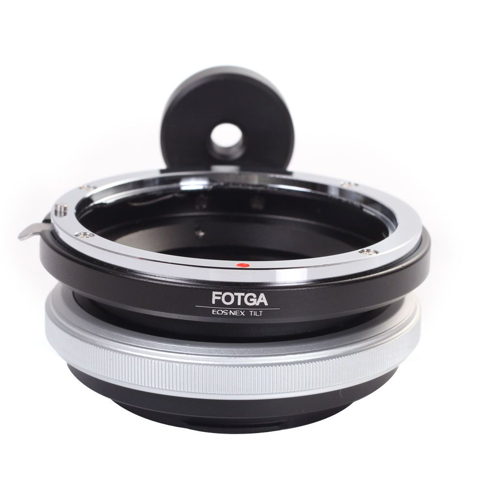 FOTGA Tilt Adapter Ring Für Canon Objektiv Sony Adapter für Nex-3 Nex-5 NEX-7 NEX-5C messing