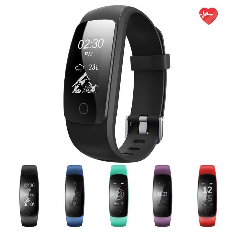 ID107 Mise À Niveau édition Intelligente Sport Bracelet Fitness Activité Tracker Moniteur de Fréquence Cardiaque GPS Tracker Bande À Puce Montre Bracelet