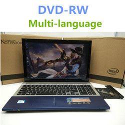 1920*1080 P 15 дюймов игровой ноутбук Тетрадь компьютер с DVD 8 г DDR3 RAM 500 г HDD в -тел J1900 4 ядра 2.0 ГГц WI-FI веб-камера HDMI