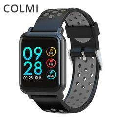 COLMI Smart Watch 2.5D IPS Screen Gorilla Glass Fitness Clock Blood pressure IP68 Waterproof Activity Tracker Smartwatch