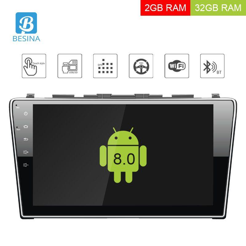 Besina 10,1 zoll Android 8.0 Auto multimedia-Player Für Honda CRV CR-V CR V 2006 2007 2008 2009 2010 2011 Auto radio GPS Stereo