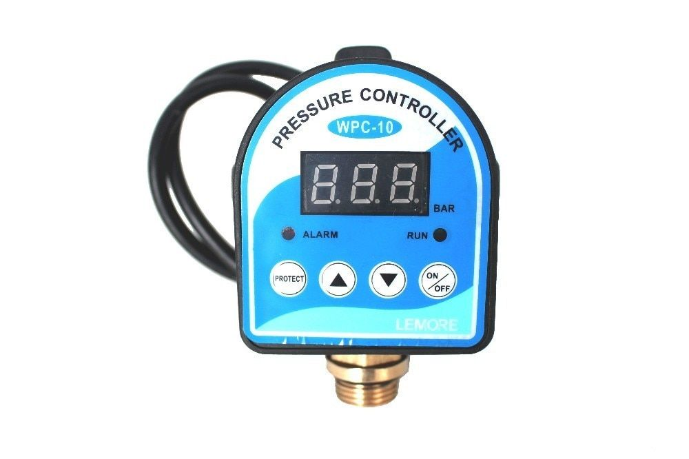 English/Russian Digital Pressure Control Switch WPC-10,Digital Display WPC Water Pump Eletronic Pressure Controller