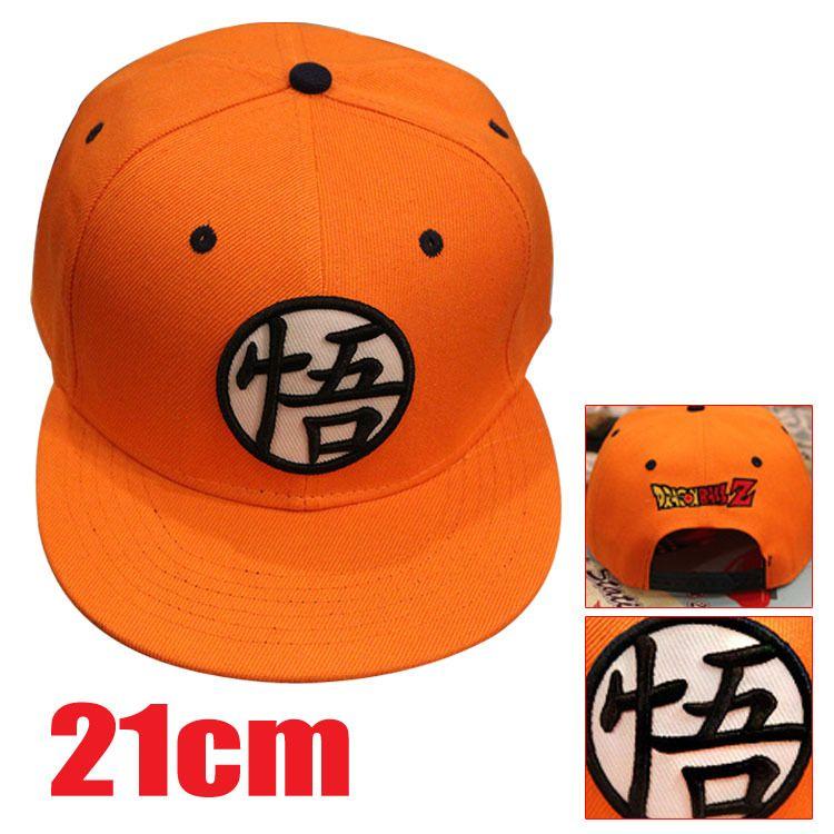 2016 горячие аниме периферия Dragon Ball/Dragon Ball Z Goku оранжевый черный бейсбольную кепку аниме шляпа HT109