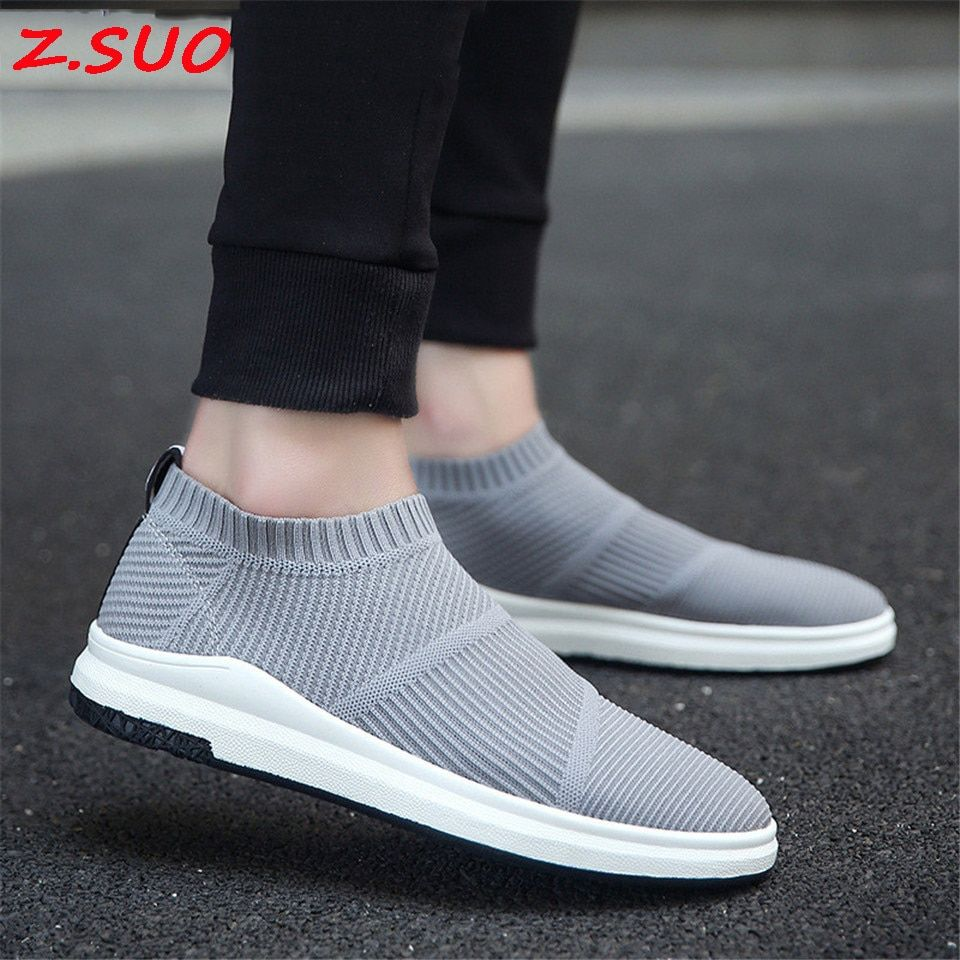 2017 New Flying Socks Men Single Shoes Trend Sets Of Feet Leisure Comfortable Shoes Summer Breathable A Pedal Men'S Shoes