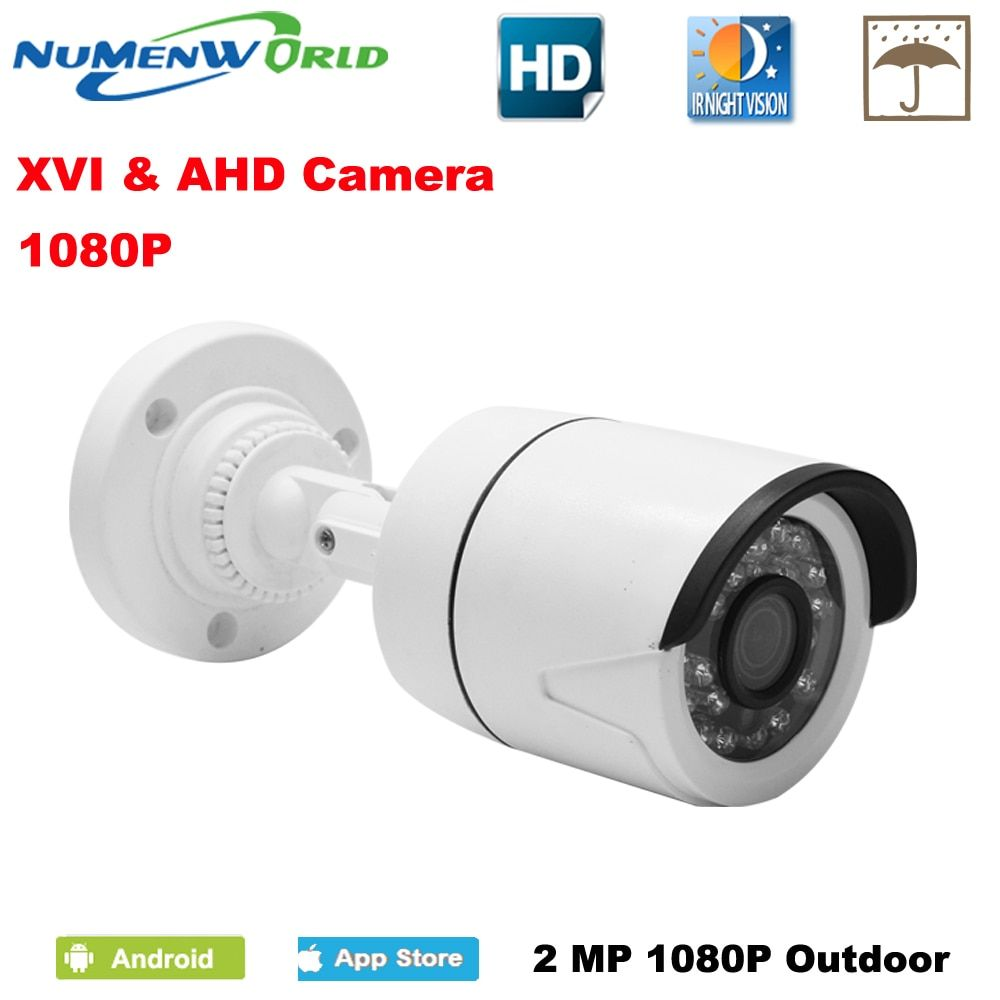 CCTV XVI/AHD <font><b>2.0MP</b></font> 1080P HD Security Camera with IR-CUT 24 IR LEDs Night Vision Analog camera for home use indoor/outdoor