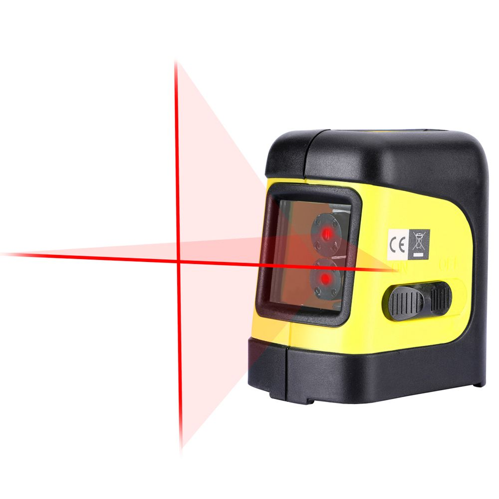 Firecore F112R 2 Lines Laser Level Self Levelling ( 4 degrees) Horizontal and <font><b>Vertical</b></font> Cross-Line Mini Size