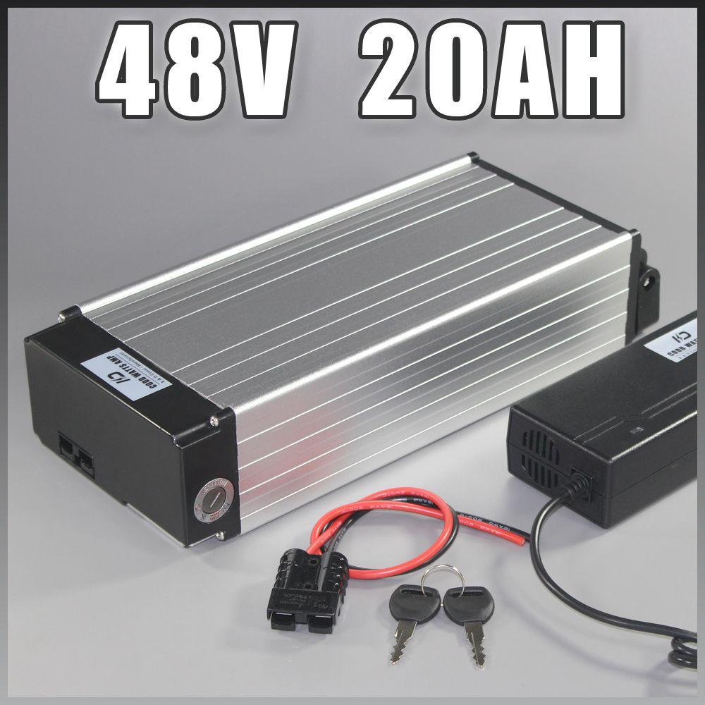 electric bike battery 48v 20ah Samsung ebike Battery with 1000W BMS EU US NO TAX