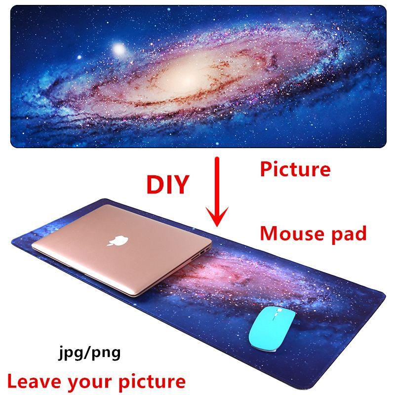 Grande taille bricolage tapis de souris personnalisé tapis de souris Anime jeu tapis de souris L XL jeu personnalisé tapis de souris pour CS GO PUBG