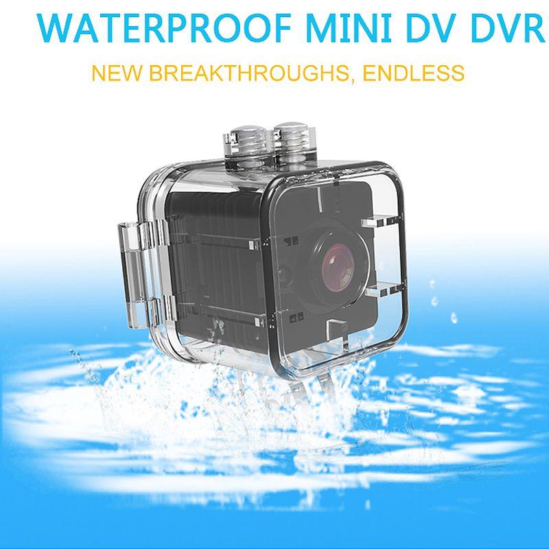 Camsoy SQ12 Wasserdichte Mini-kamera HD 1080 P Sport IR Nachtsicht DVR Mini Video Recorder Kamera