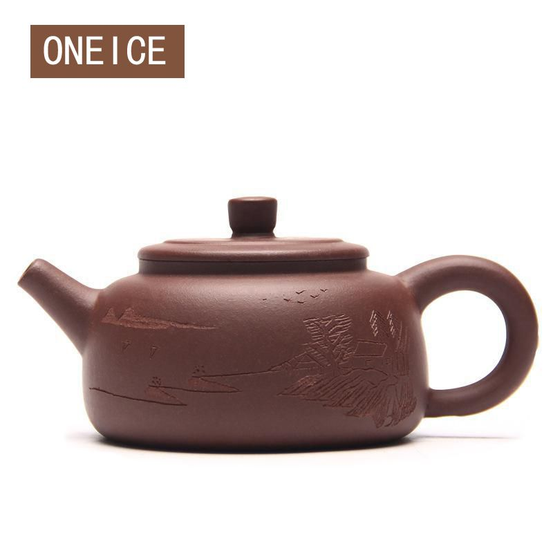 Hand made pot Satisfied blessing mud pot Purple clay Tea set teapots Author: zhou ting Chinese Yixing Teaware Teapots
