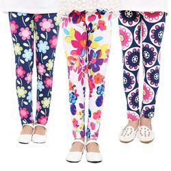 Bayi Anak Printing Bunga Balita Klasik Legging Anak Perempuan Celana Gadis Legging 2-14Ybaby Gadis Legging