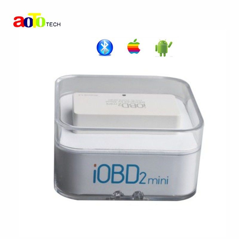 100% Original XTOOL iOBD2 Mini OBD2 EOBD Scanner Support Bluetooth 4.0 for iOS and Android Better than ELM327