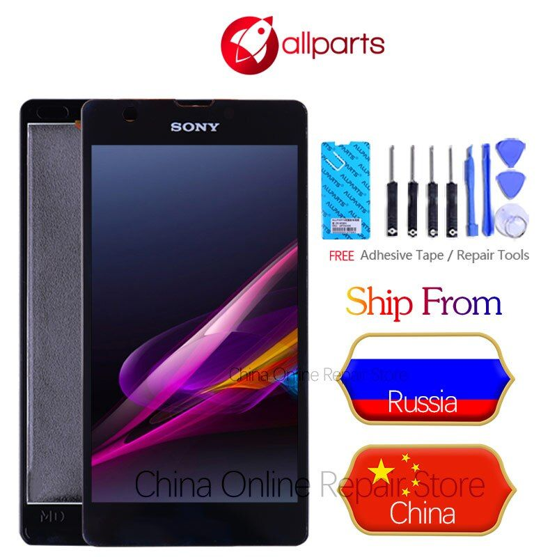 ORIGINAL For Sony Xperia ZR Display Touch Screen Digitizer Assembly For SONY Xperia ZR LCD Display M36h C5502 C5503 LCD