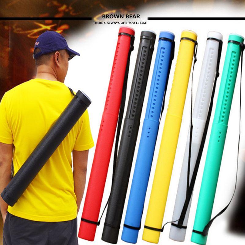 25-41'' Adjustable PE Arrow Quiver Shoulder Holder Archery Shooting Arrow Tube Archery Case 12-24PC
